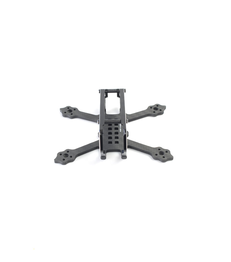 1 pièce GT-M2/2.5/3 95mm 115mm 130mm 144mm empattement vrai X cadre Micro Drone quadrirotor support FPV Kit pour course bricolage