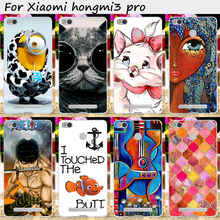 Mobile Phone Bag and Cover For Xiaomi Redmi 3S Redmi 3 Pro Hongmi 3 Pro 3S Redmi3 Pro Cases Hard Plastic Protective Skin Housing