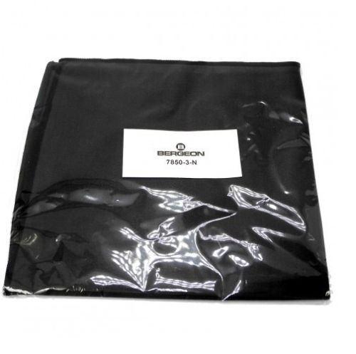 HP7850-3-N Bergeon 7850-3-N Black Microfibre Polishing Cloth 300mm x 350mm