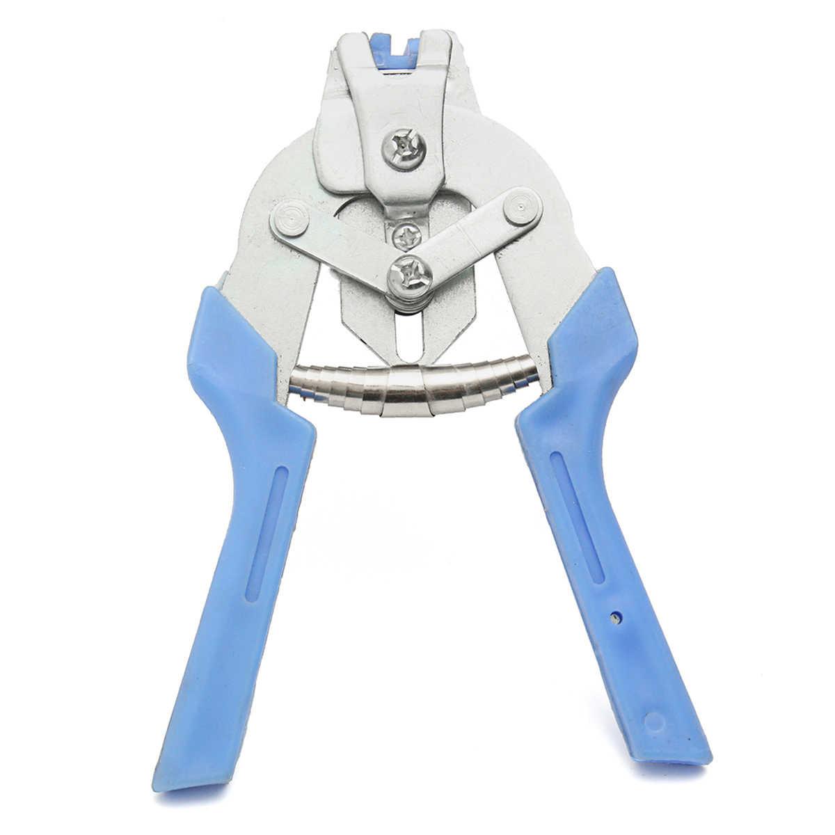 2 stks Hog Ring Tang Tool met 600 stks M Clips Kip Gevogelte Mesh Kooi Draad Hekwerk Krimpen Soldeerverbinding lassen Reparatie Gereedschap