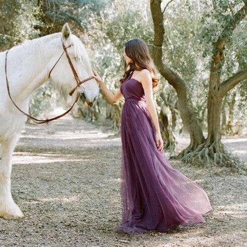 ac9cbd33c6 Vestidos De Novia Pastel Mismatched Purple And Lavender Bridesmaid ...