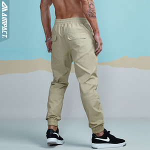 Image 2 - Aimpact 2018 Neue männer Casual Hose Mode Chino Jogger Mann Baumwolle Ausgestattet Spur Twill Hosen Männlichen Gerade Verjüngt Hosen AM5013