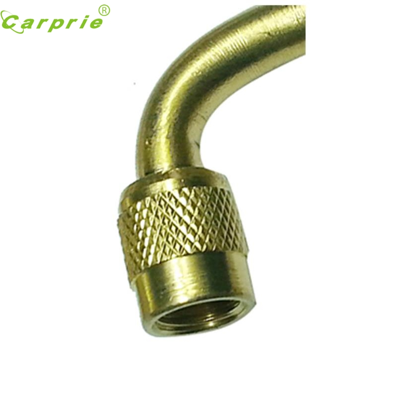 New Arrival Car-Styling Brass Air Tyre Valve Extension Car Truck Motorcycle Wheel Tires Parts 90 Degree st2 Oct11