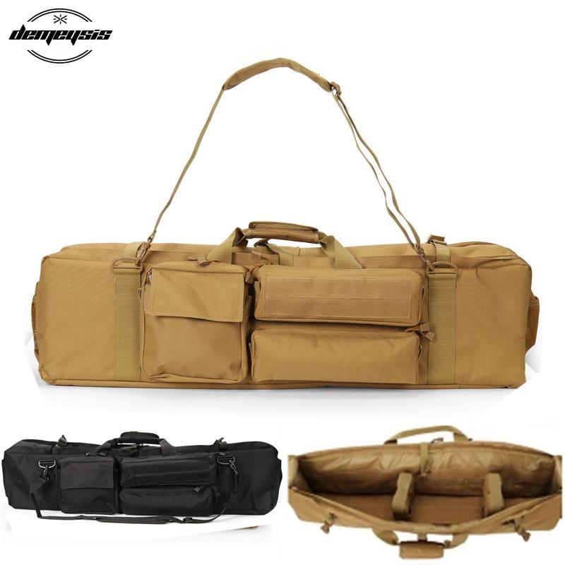 M249 extérieur militaire tactique pistolet sac armée chasse tir sac chasse tactique fusil pistolet sac de transport