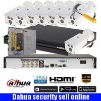Dahua HD Canal 8 2MP 8CH De Vídeo Sistema de CCTV Full HD 1080 p IR HDCVI 8 pcs Câmera Da Bala Ao Ar Livre kit DH HAC HFW1200D|kit kits|kit outdoor|kit ir -