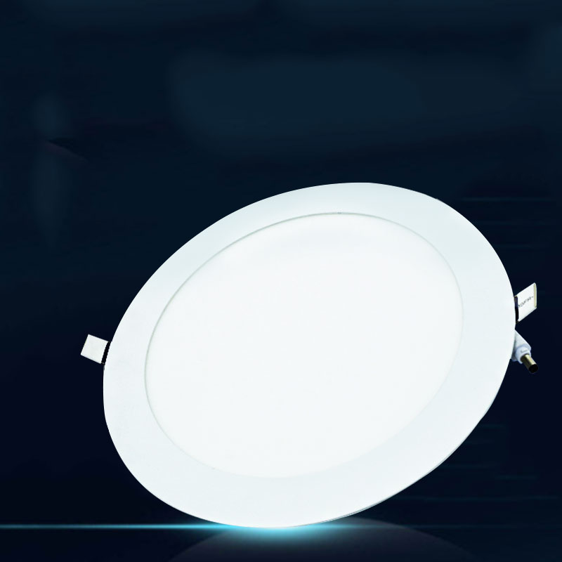 Cool White 18w Led Round Recessed Ceiling Panel Downlight Lights Lamp Household Accessories Drop