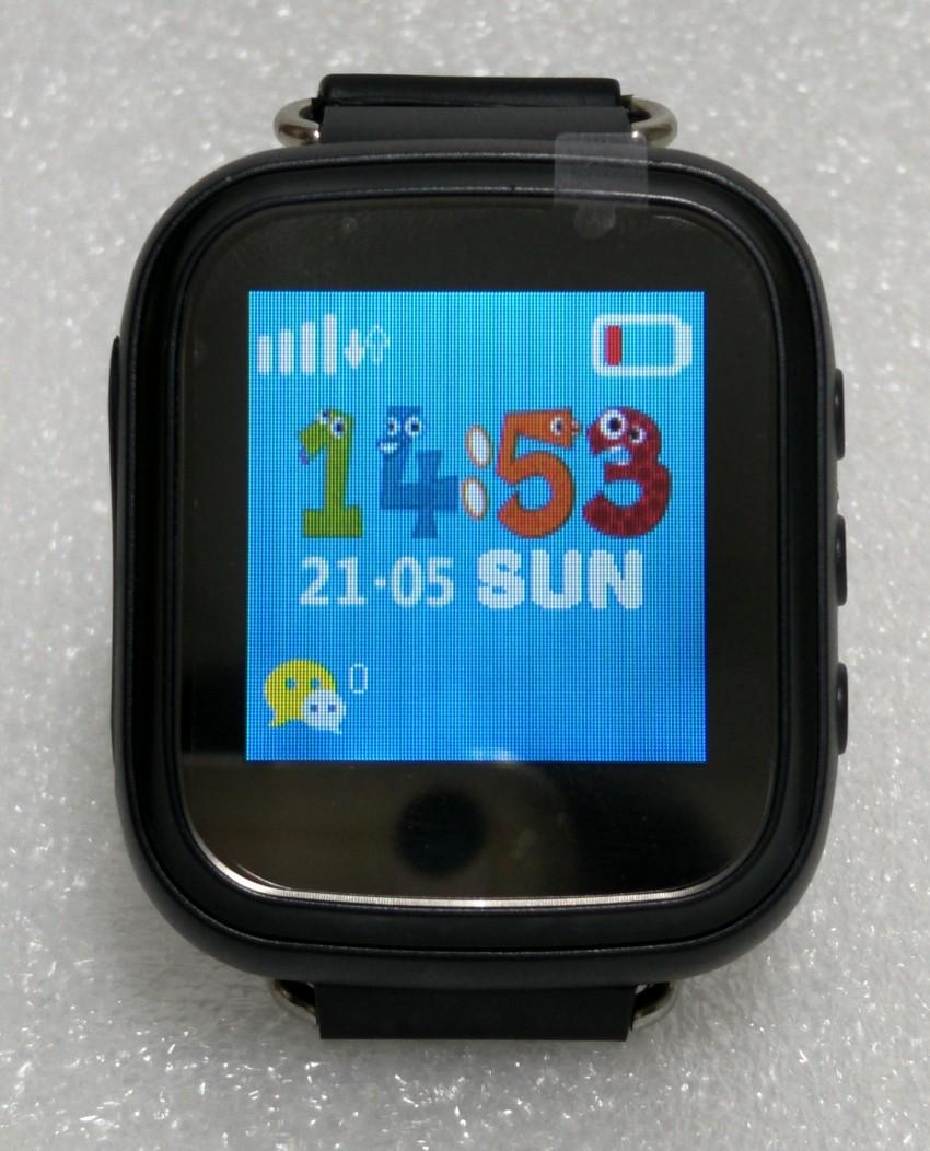Prix pour Hot GPS Tracker Montre pour Enfants Sûr GPS Montre Q80 noir intelligent Montre-Bracelet SOS Appel Finder Locator Tracker Surveiller à distance GSM