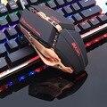 Ratón de juego profesional ZUOYA 8D 3200DPI ajustable con Cable óptico LED ratón de Cable USB para ordenador portátil