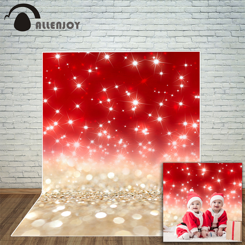 Allenjoy photography backdrop abstract christmas stars Bokeh glitter background photo studio new design camera fotografica