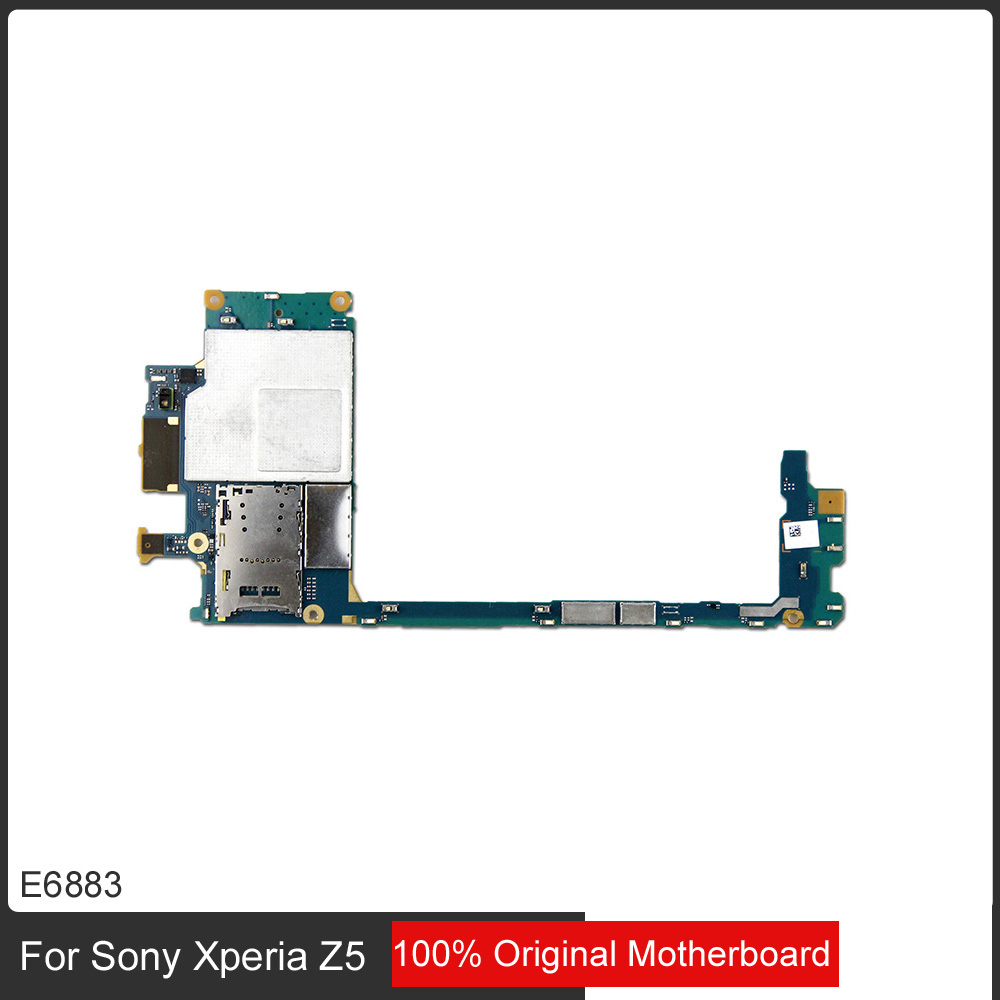 Full Work Original Unlocked Mainboard Motherboard Flex Circuits Sony Xperia S Circuit Diagram Cable For Z5 Single Sim E6883 E6653 In Mobile Phone Antenna From Cellphones