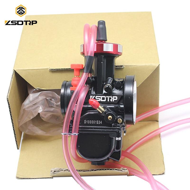 ZSDTRP nouveau modèle carburateur noir PWK pour moteur universel 2 T 4 T moto Scooter UTV ATV 34 36 38 40 42mm
