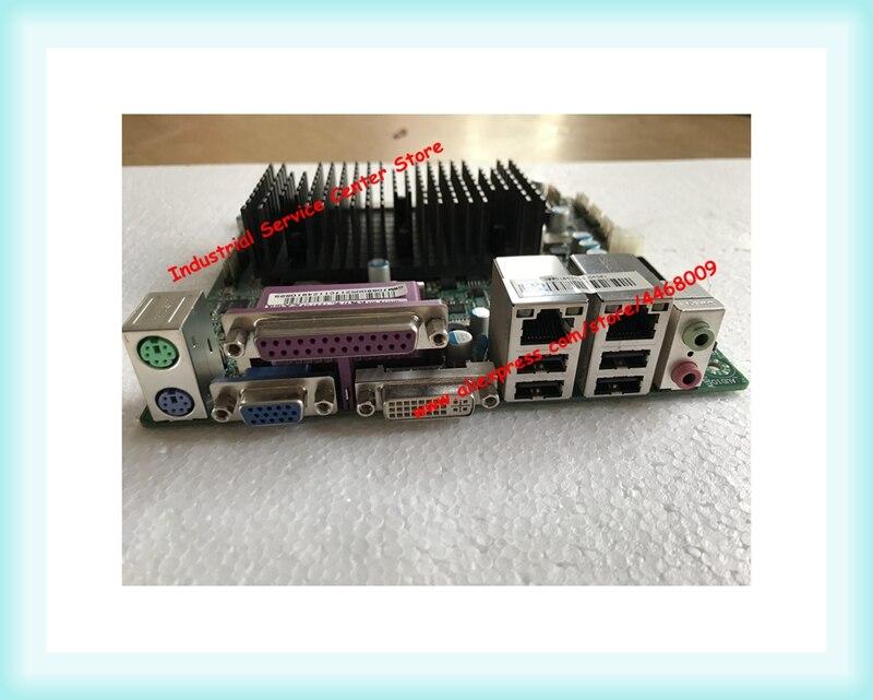 Double-core quatre fils D525 TE7066M petite carte mère DDR3/double Gigabit NIC/alimentation 12 V/carte mère POS