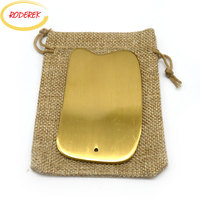Guasha Tool Copper Guasha Board For Scraping Body Anti Stress Chinese Therapy Massage Device For Health Care