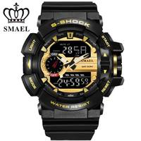 LED Digital Watch Men Sport Wrist Watches 2017 Clock Famous Top Brand Luxury SMAEL Electronic Digital