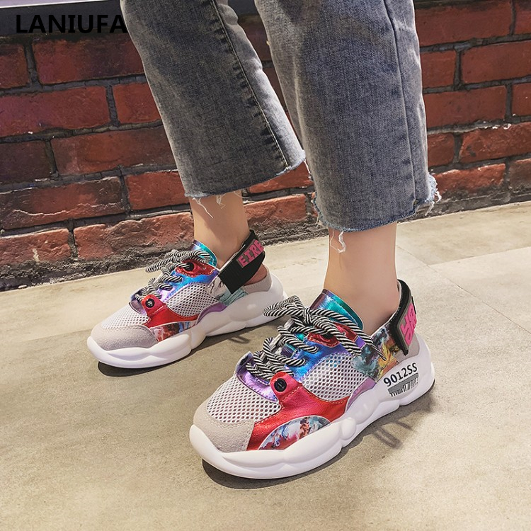 Spring women flats shoes women Casual flat Round Toe breathable mesh Lace-Up outdoor walking shoes Autumn women shoes mujer &311Spring women flats shoes women Casual flat Round Toe breathable mesh Lace-Up outdoor walking shoes Autumn women shoes mujer &311