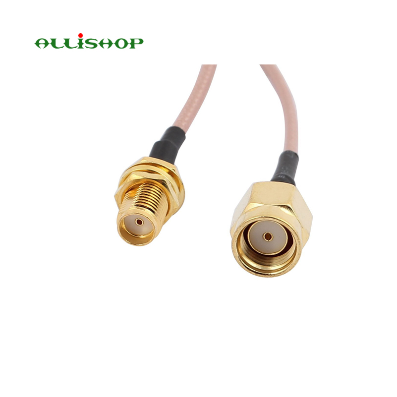 5 Meters Extension Antenna Cable SMA-female to RP-SMA-male connector RG316 cable for wifi antenna routor ALLiSHOP