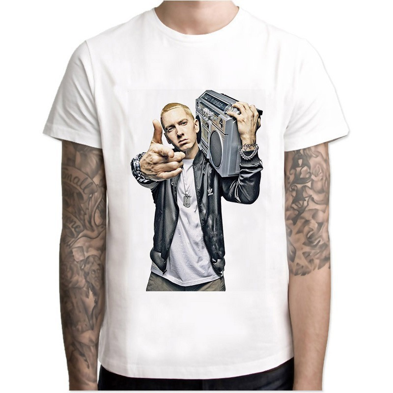 Collection T-Shirt Eminem Hommes Hip Hop