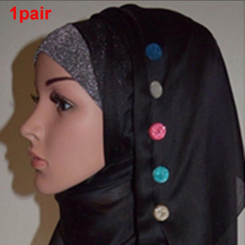 Women Magnetic Hijab Pin Headscarf Abaya Clasp Brooch Shawl Magnet Scarf Pin ty