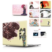 New Color printing kimono Laptop Case For MacBook Air Retina Pro 11 12 13 15 Air13 with Touch Bar