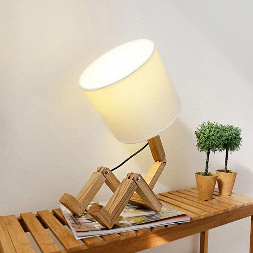 Contemporary Design Classique Bleu Lampe de table pour Salon Chambre ...