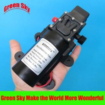 5L/Min DC12V 60W high pressure micro diaphragm water pump 5l min dc12v 60w high pressure mini water diaphragm pump