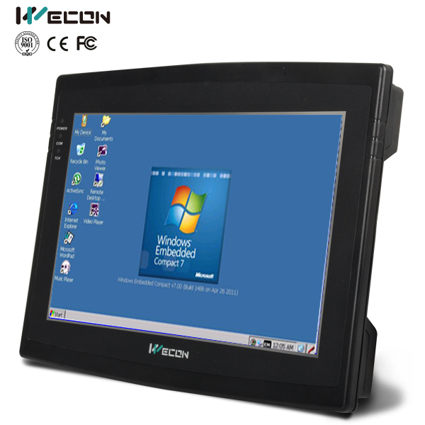 Wecon 10 2 industrial panel pc support wince system