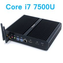 Hystou 7th Gen Intel Core i7 7500U DDR4 Kaby Lake Mini PC Windows 10 HD Graphics 620 Micro Gaming Computer 4K HTPC Linux Nettop