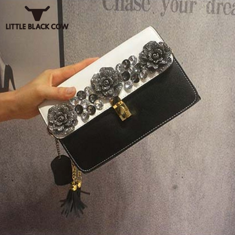 Crystal Leather Crossbody Bags Women Famous Brand Clutch Small Bag 2019 New Fashions Diamonds Zipper Shoulder Bag FemaleCrystal Leather Crossbody Bags Women Famous Brand Clutch Small Bag 2019 New Fashions Diamonds Zipper Shoulder Bag Female