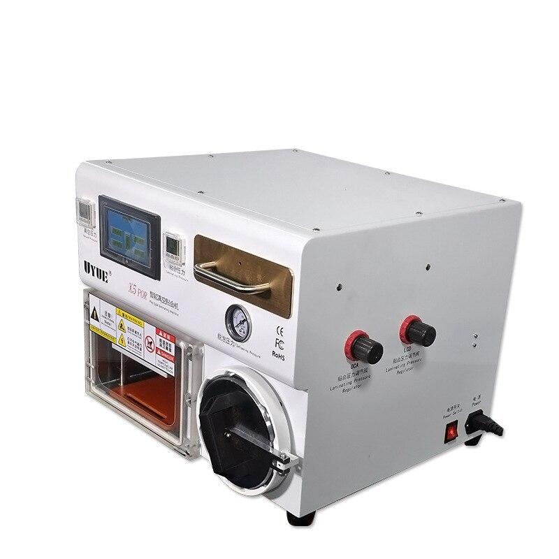 Купить с кэшбэком UYUE X5 POR Intelligent Surface Fitting Machine, Vacuum Pump + Pressing, Intelligent Heating, Suitable less than 10 inch screen