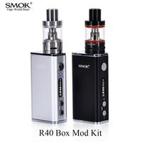 Elektronische Sigaret Vape Doos Mod Kit SMOK R40 TC Mod 40 W E waterpijp Vaporizer E Sigaret Vape Pen VS Joyetech Ego AIO Kit S013