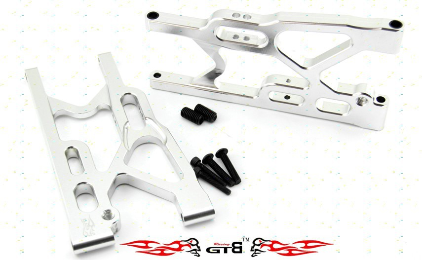 Losi 5ive-t steel rear lower suspension 1 set losi rear absorber shock set 2pcs set for losi 5ive t free shippings