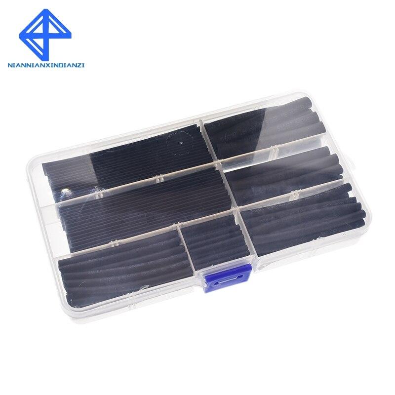 Elektronische Zubehör & Supplies Angemessen Schrumpfschlauch 2mm 3mm 4mm 5mm 6mm 8mm 10mm Schläuche Sleeving Wrap Draht Kabel Kit Jade Weiß