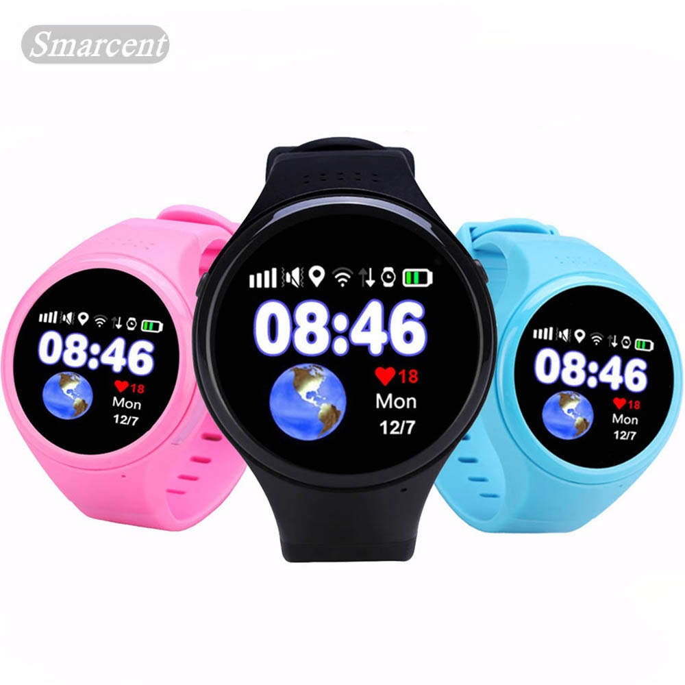 лучшая цена New GW200S Round GPS Smart Watch baby watch with Wifi SOS Location Device Tracker for Kids old man Safe Anti-Lost Monitor