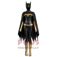 New Batman:Arkham Knight Batgirl Cosplay Costume & Mask & Boots Comic version mp003603