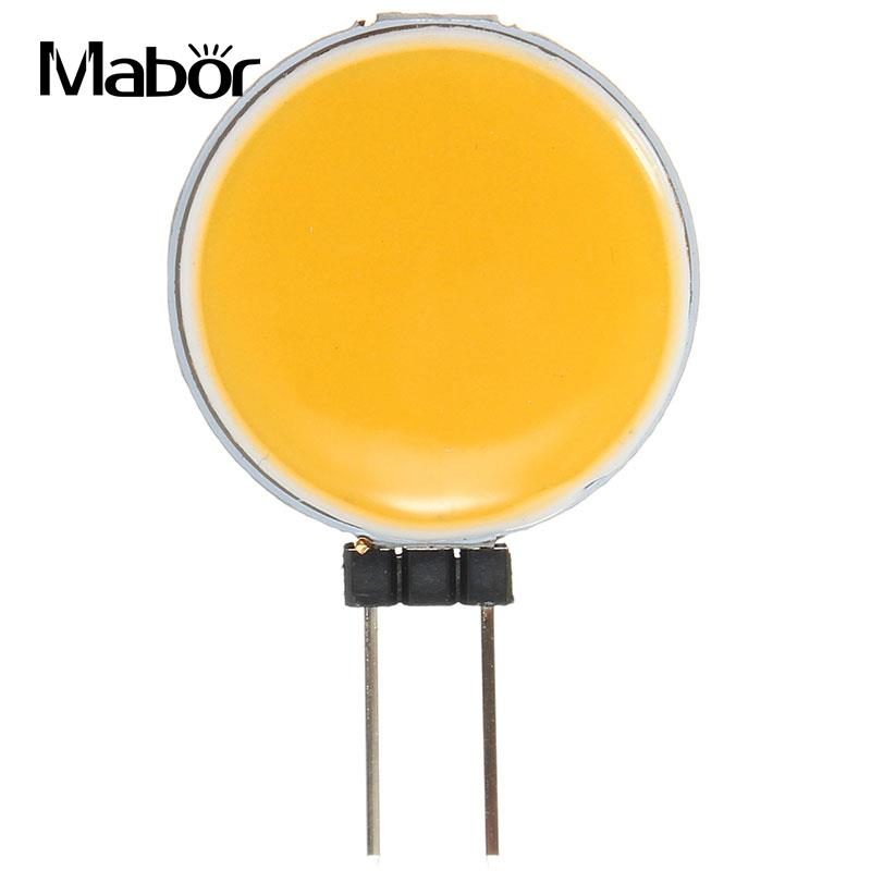 <font><b>G4</b></font> <font><b>2W</b></font> COB LED Spot Light Bulb Lamp <font><b>12V</b></font> Quality Energy Warm White/White image