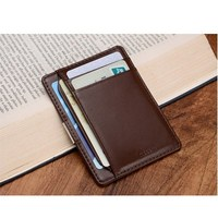 Modern New 2016 Original Brand Genuine Leather Wallets Money Organizer Men Wallets Money Clip Clutch Wallet