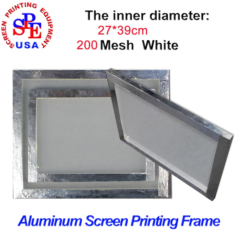 aluminum alloy screen frame for screen printing inner size 2739cm with 200 mesh