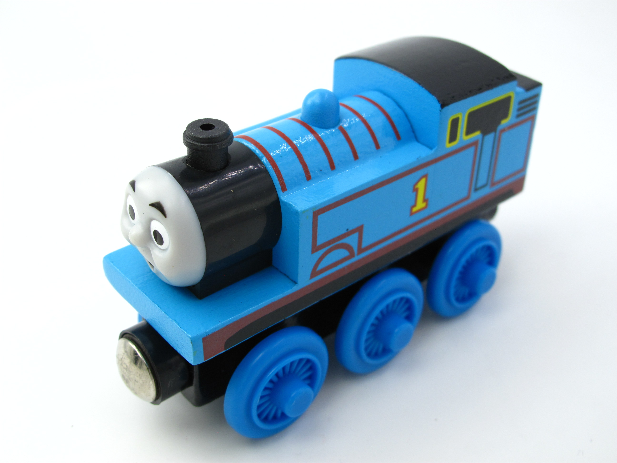Wooden Thomas Train T130W NO.1 Thomas And Friends Trackmaster Magnetic Tomas Truck Car Locomotive Engine Railway Toys for Boys