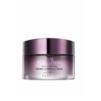 MISSHA Time Revolution Night Repair Probio Ampoule Cream 50ml Facial Cream Moisturizing Skin Anti Aging Serum Korea Cosmetics