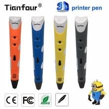 Tianfour 3D Ручка DIY 3D-принтеры ручки 3D печати рисунка ручки с ABS/PLA нити 1.75 мм Best для детей рождество подарок на день рождения