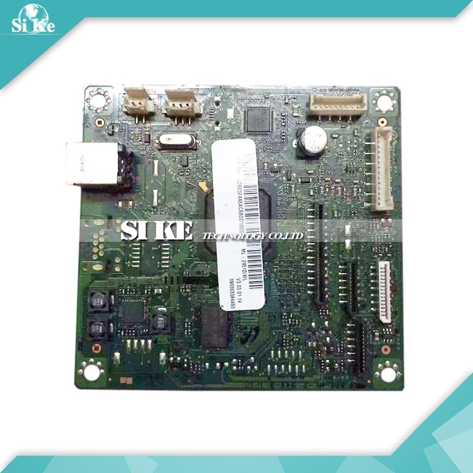 Laser Printer Main Board For Samsung ML-2951 ML-2951D ML2951D ML2951 ML 2951 2951D Formatter Board Mainboard Logic Board black laser printer bottle toner powder dust refill kit for samsung ml 1210d3 ml 1010 ml 1220 ml 1250 ml 1430 ml 1210 cartridge