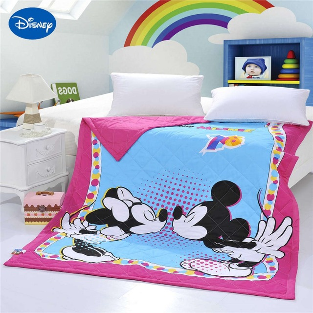 Kiss Mickey Minnie Mouse Quilts Comforters Bedding Cotton Covers 150 ...