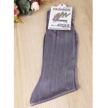 12 unids Masculina Multicolor calcetín medias de seda sexy raya Desodorante calcetines de rayas hombres párrafo de la media calcetines de Negocios de los hombres