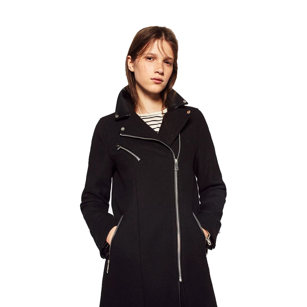 Online Buy Wholesale wool zip coat from China wool zip coat