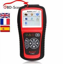 Авто диагностический сканер obd2 Код Читателя Autel AL519 Английский Французский Испанский Язык диагностический инструмент Код Ошибки Чтения Сканер