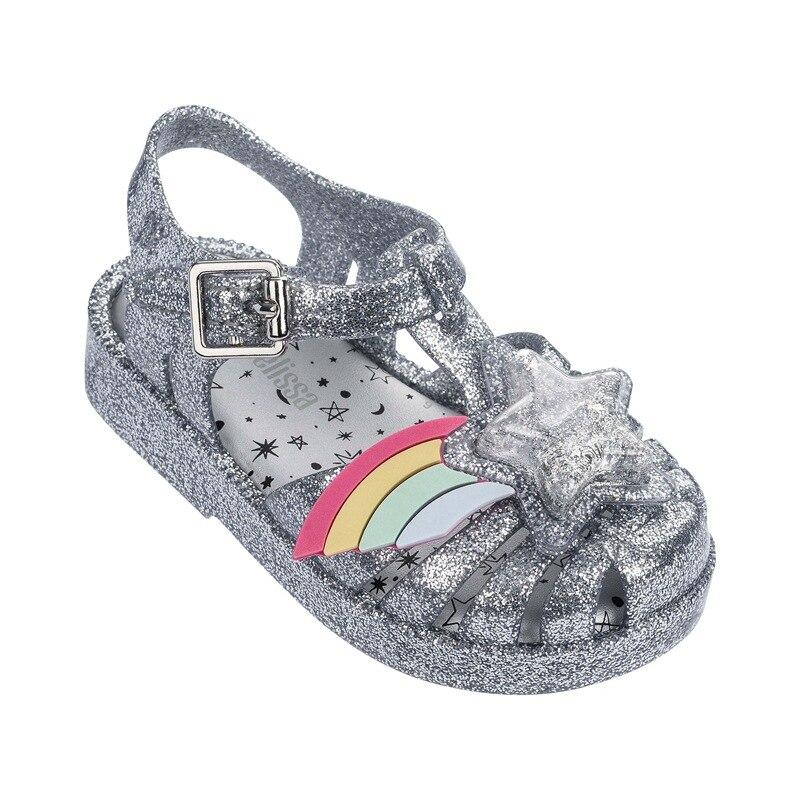 Besorgt Nahe Zehe 3d Rainbow Star Patch Mädchen Casual Strand Sandalen 2019 Neue Mini Lissa Weichen Boden Kinder Schuhe Sandalen Mädchen Gelee Schuhe Delikatessen Von Allen Geliebt
