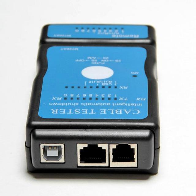 רב-מודולרי RJ-45 RJ-11 רשת LAN כבל USB בודק LAN USB רשת RJ45 Cat5 RJ11