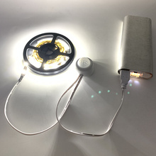 USB 5V Motion Sensor Light LED Night Light luminaria Kitchen Light Bed Lamp PIR USB LED