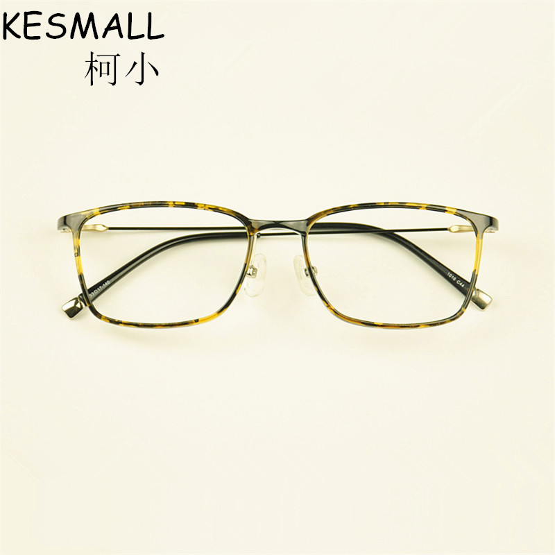 2018 Optical Glasses Frame Women Men Vintage Myopia Glasses Frames Light Oculos De Grau Male Retro Gaming Eyeglasses Frame YJ835