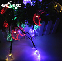 Waterproof Lights Moon Lights for Christmas Party, Xmas Tree, Gardens, Patio, Lawn, Wedding and Decor 2PCS/LOT